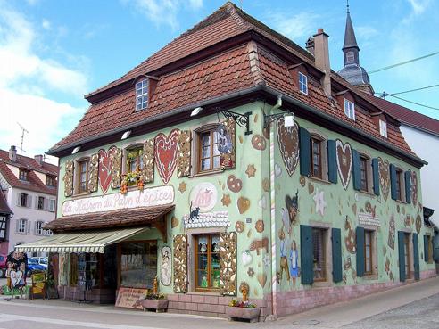 La Maison du pain d'épices Lips à Gertwiller en Alsace