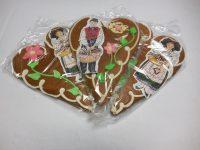 Cœurs cigogne décoré d'une image